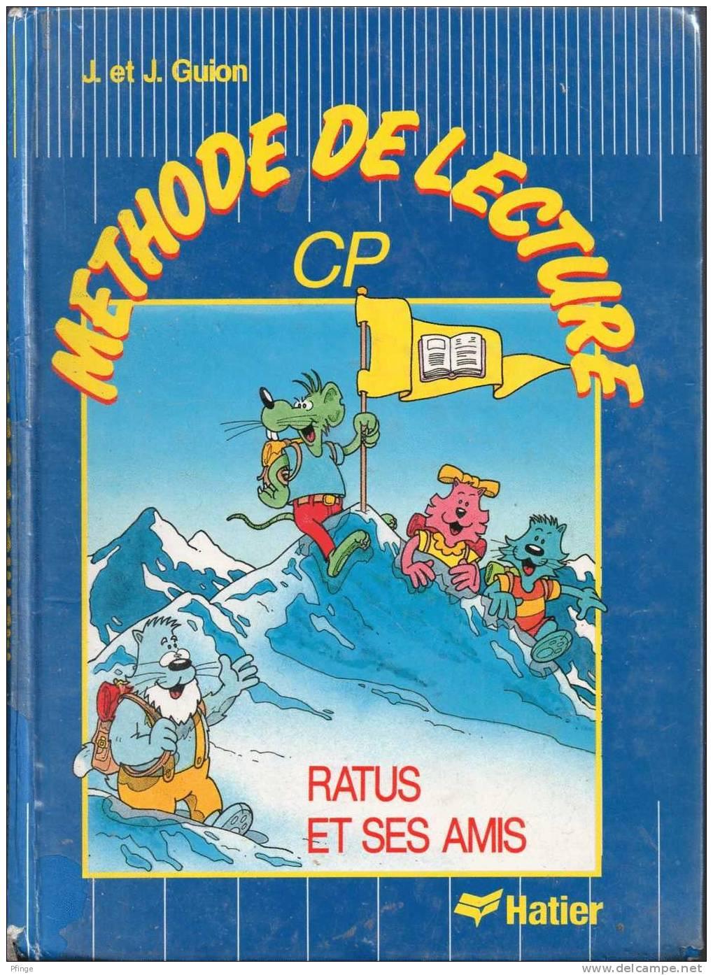 Méthode De Lecture CP - Ratus Et Ses Amis Par J.et J. Guion - Dessins : Olivier Vogel - Livres, BD, Revues