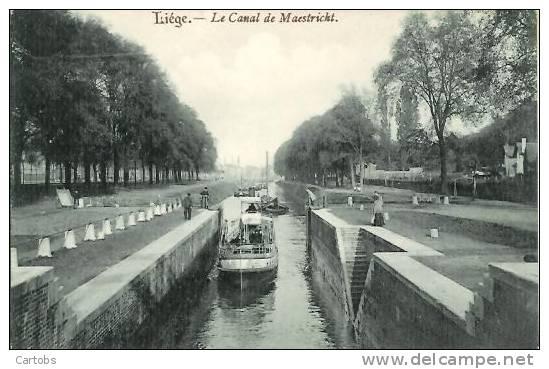 LIEGE Le Canal De Maestricht - Liege