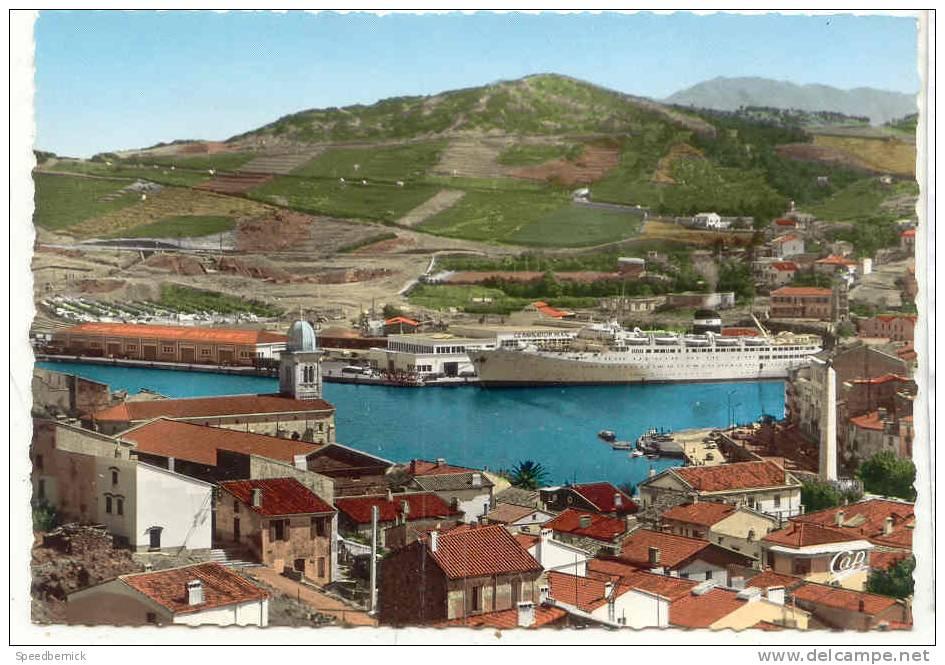 16134 PORT VENDRES - Le Port - Le KAIROUAN à Quai . 1838 Cap - Port Vendres