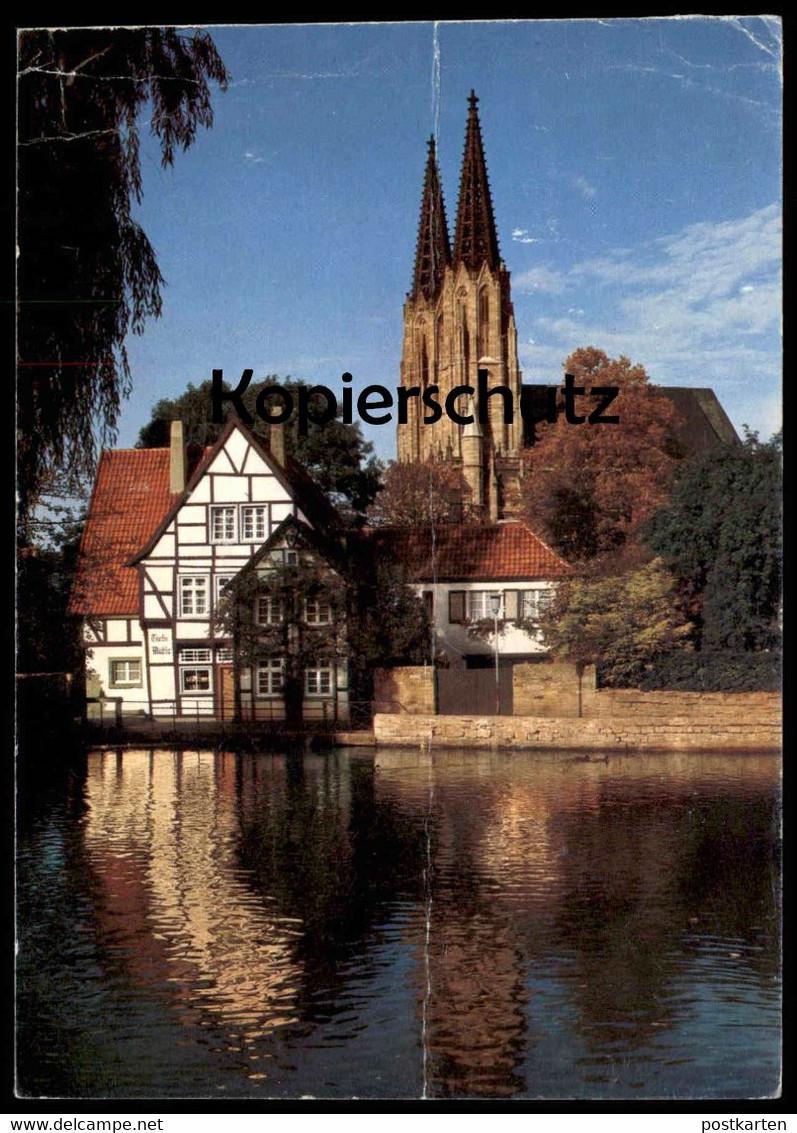 ÄLTERE POSTKARTE SOEST TEICHSMÜHLE Mühle Wassermühle moulin à eau water mill Ansichtskarte AK cpa postcard