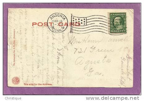 Main Street, Ansonia, CT. 1912 - United States