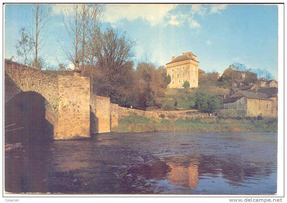 Aux Environs De Rodez (12, Aveyron) Château De Montrozier - Rodez