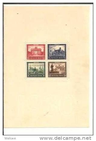 DSP088a/  DEUTSCHES REICH - IPOSTA, Block 1, 1930 (Mi.Nr.446-48) ** - Deutschland