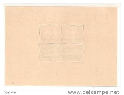 DSP112a/REICH -  DEUTSCHES  OSTROPA 1935, Block 3 (*) Super-Erhaltung Ohne Jegliche Mängel - Deutschland