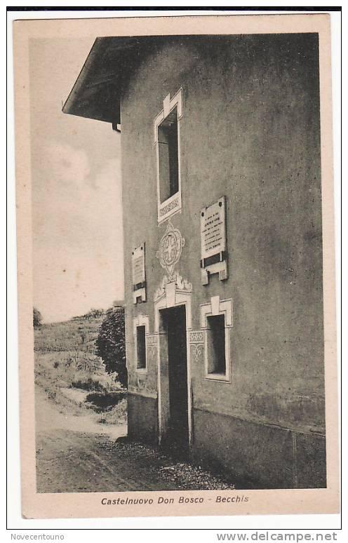 PIEMONTE - ASTI - Castelnuovo Don Bosco - Becchis - Asti