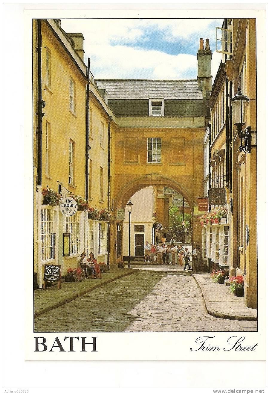 England Inghilterra Bath Trim Street - Bath