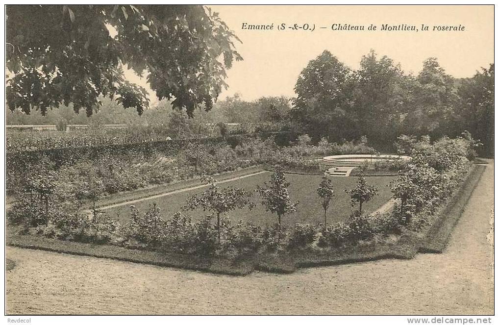 EMANCE - Château De Montlieu , La Roseraie - Autres Communes