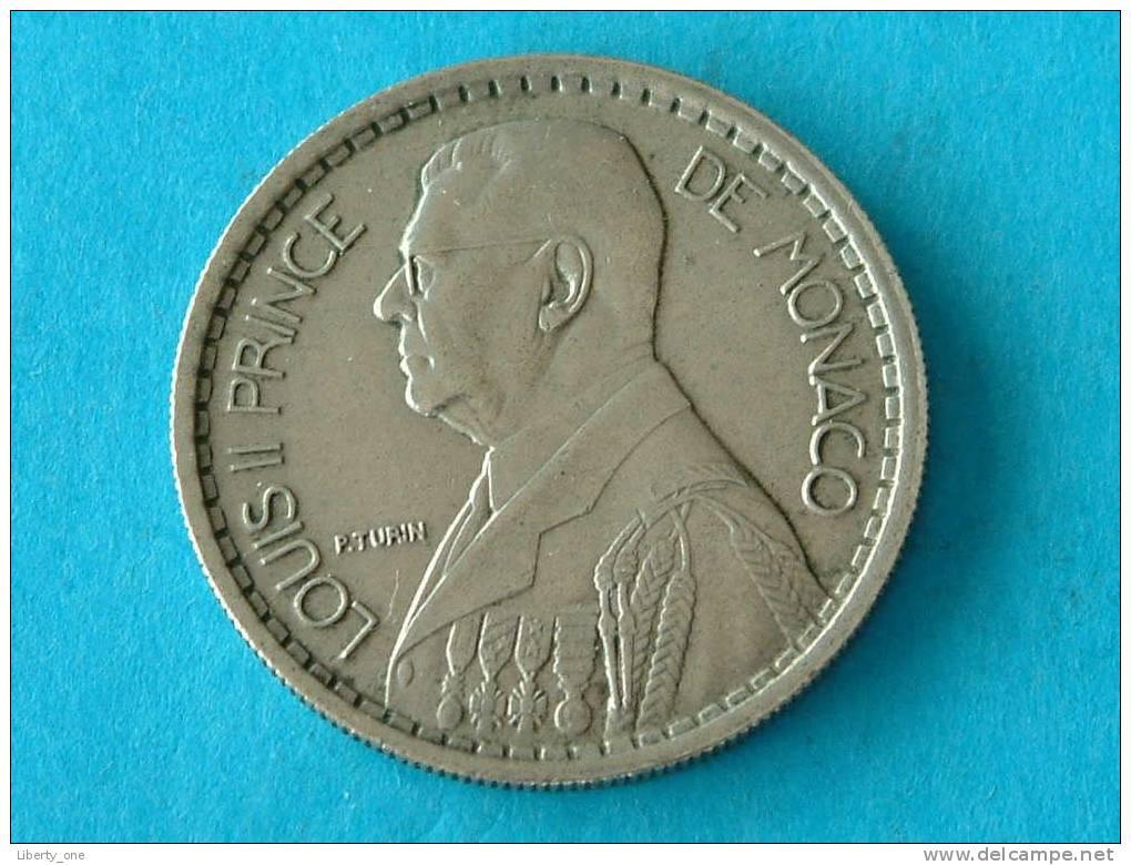 1946 - 10 FR. / KM 123 ( For Grade, Please See Photo ) ! - Monaco