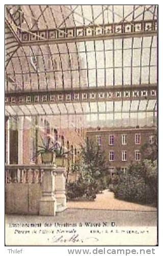 Wavre Notre-Dame 16 :Etablissement Des Ursulines. Perron De L'Ecole Normale 1903 - Sint-Katelijne-Waver