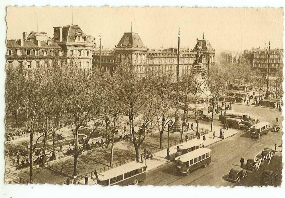 PARIS 75.3ème ARRONDISSEMENT.PLACE DE LA REPUBLIQUE - Plätze