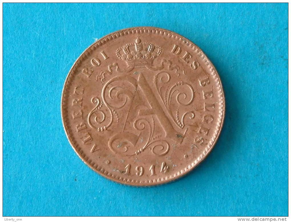 1914 FR - 2 CENTIEM ( Morin 314 - Details See Photo ) ! - 02. 2 Centimes