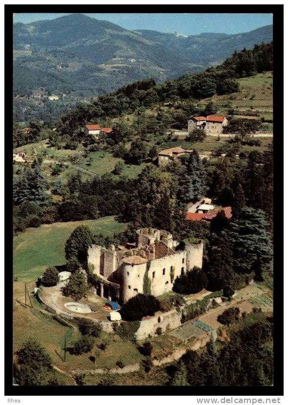 07 Le Cheylard Vue Aerienne Chateau D07D C07064C RH100457 - Le Cheylard