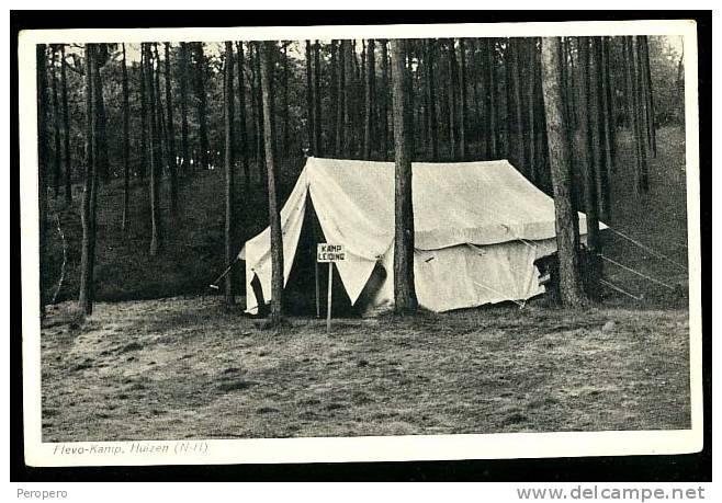AK, Boy Scout, , Old Postcard, Flevo-kamp, Netherland - Pfadfinder-Bewegung