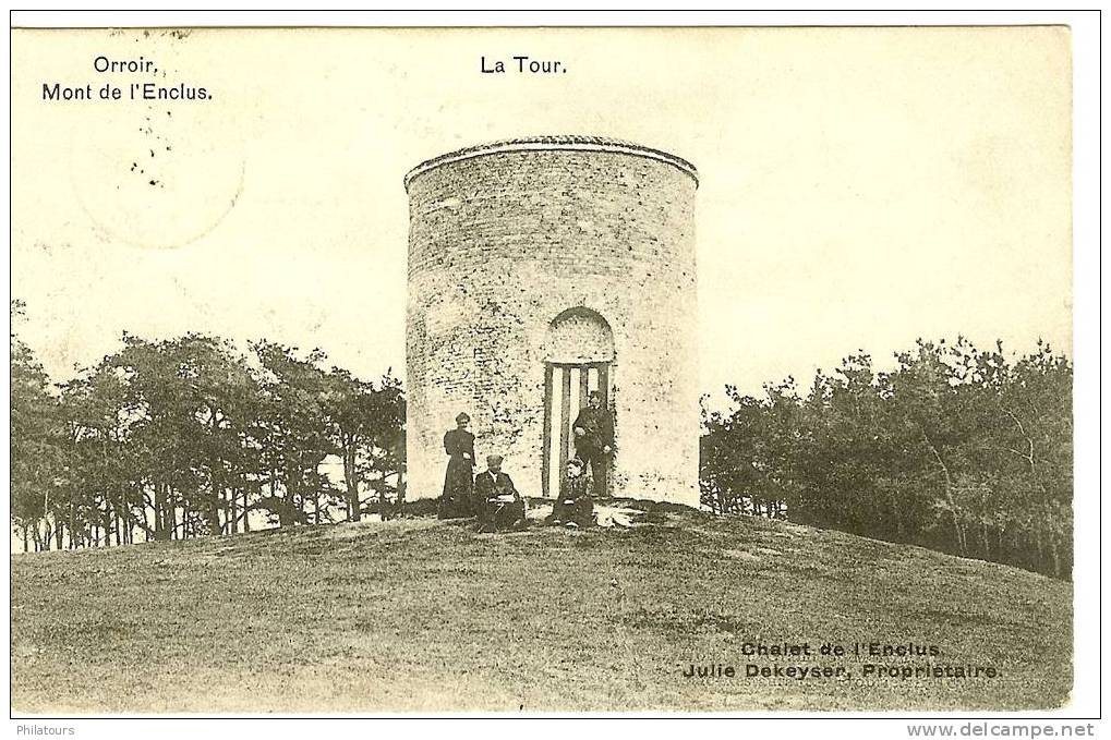 BELGIQUE  /  ORROIR - Mont De L'Enclus - Mont-de-l'Enclus