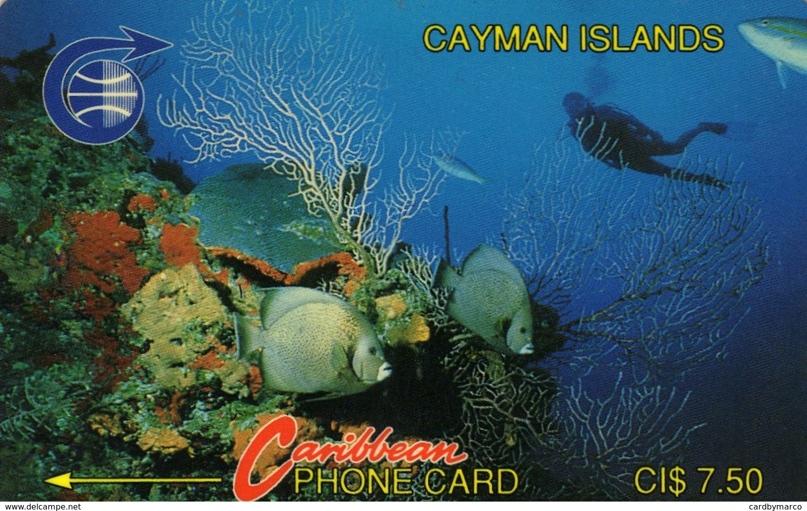 *CAYMAN ISLANDS* - Scheda Usata - Isole Caiman