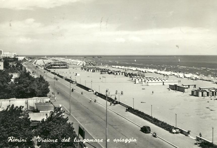 Italie - Rimini -  Panorama Lungomare - Rimini