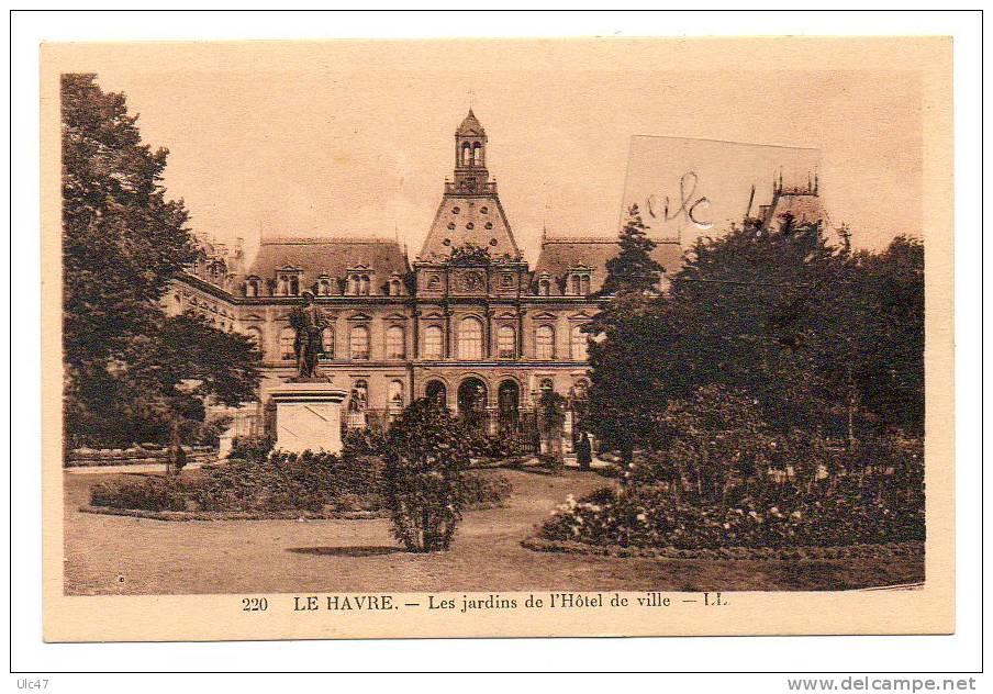 - LE HAVRE. - Les Jardins De L'Hôtel De Ville. - Cpa, Tbé - - Le Havre