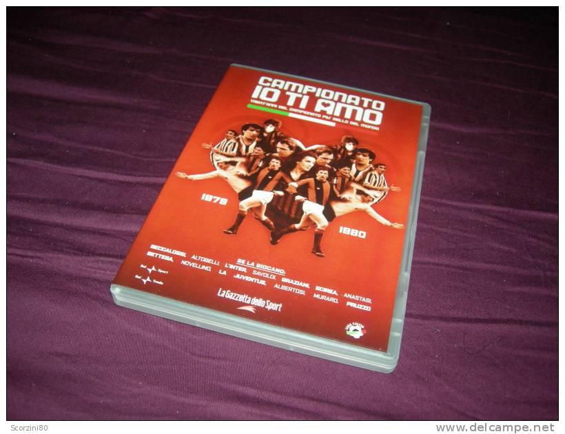 DVD-CAMPIONATO IO TI AMO 1979-1980 Gazzetta Dello Sport - Sport
