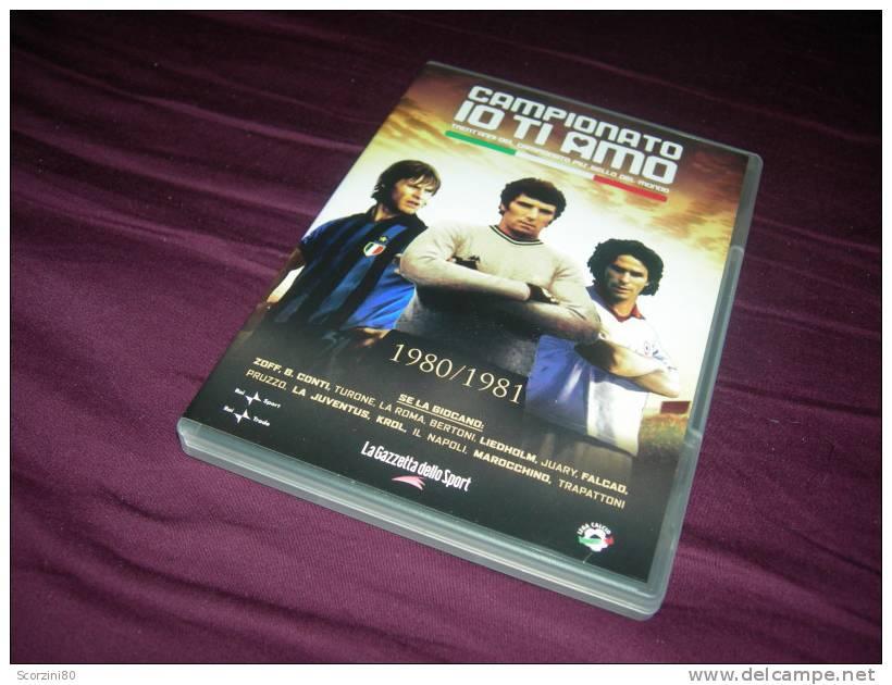 DVD-CAMPIONATO IO TI AMO 1980-1981 Gazzetta Dello Sport - Sport