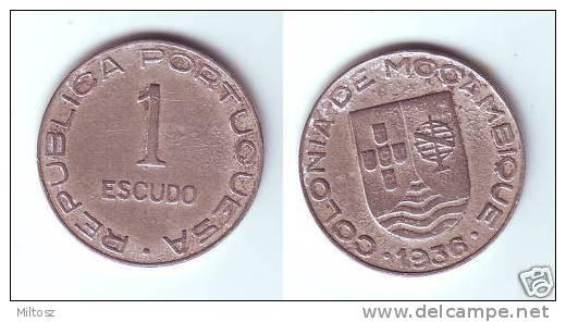 Mozambique 1 Escudo 1936 - Mozambique