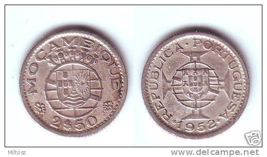 Mozambique 2 1/2 Escudos 1952 - Mosambik