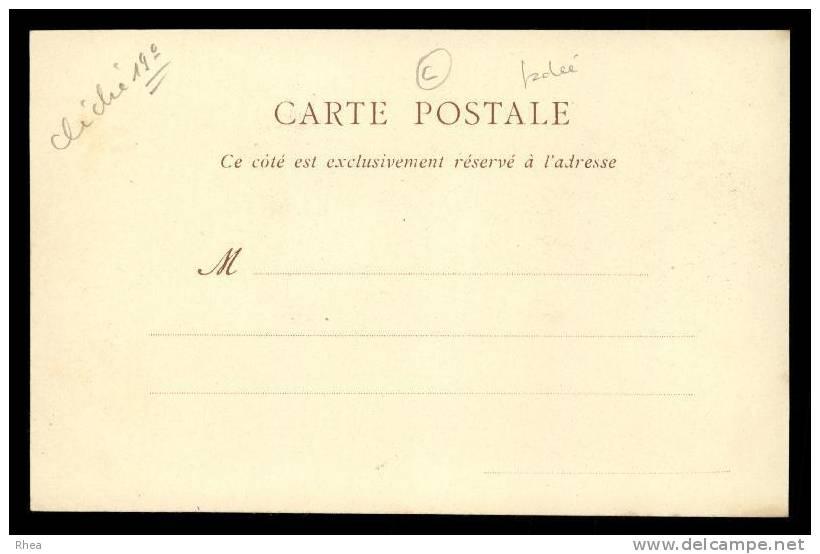 38 Grenoble Carte Nuage D38D K38185K C38185C RH101149 - Grenoble