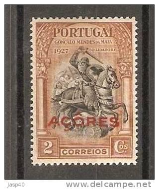 D - AÇORES AFINSA 254 - NOVO COM CHARNEIRA, MH - Azores