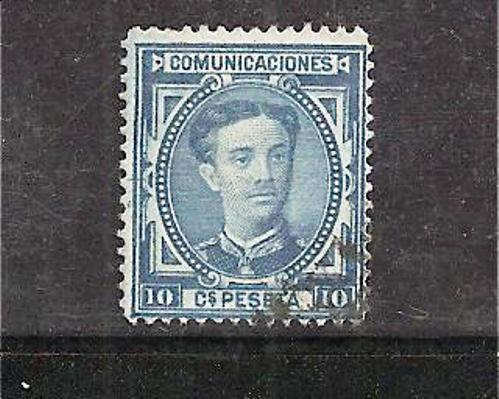 SpaMi.Nr.157/  SPANIEN - Edifil No. 175a (1876) - Gebraucht