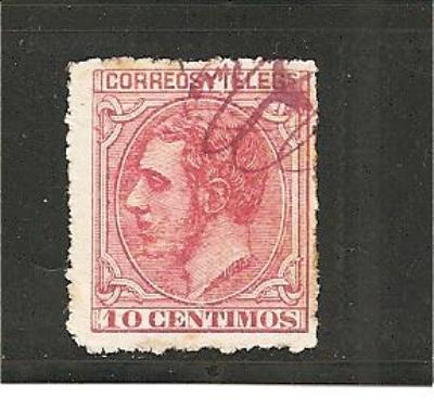 SpaMi.nr.178/ SPANIEN -  Edifil No. 202 (1879)o - Gebraucht