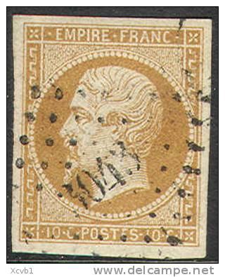 France    14c,   XF, Used, Sound, SCV $22.5   (fr014c-10  Type II - 1853-1860 Napoleon III