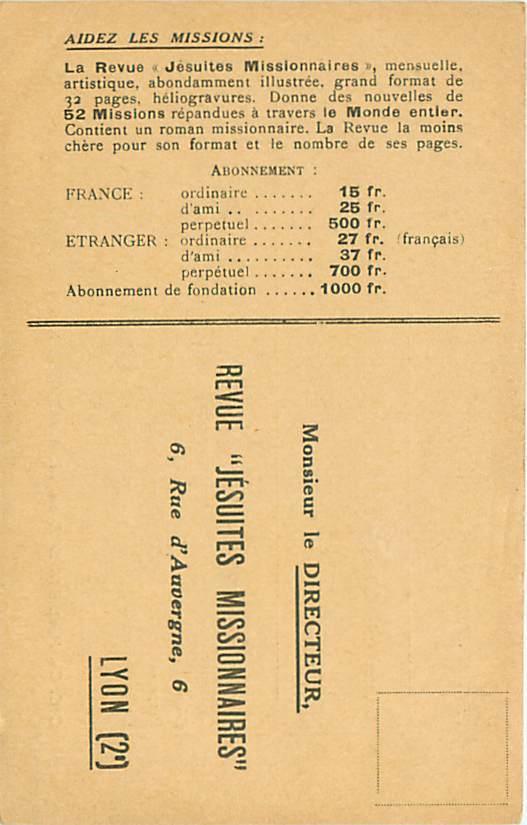"Revue ""Jésuites Missionnaires"" - Lyon - Godsdiensten & Geloof"