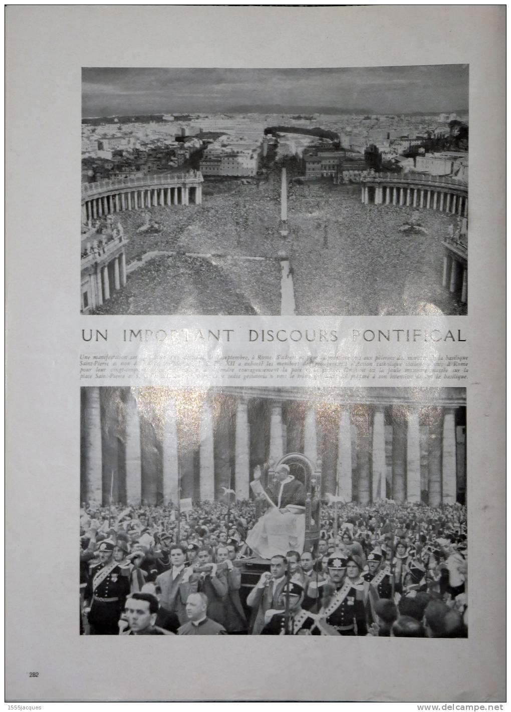 FRANCE ILLUSTRATION N° 103 / 20-09-1947 ROUEN LOUISIANE MARINE FRANÇAISE PIE XII MARÉCHAL LYAUTEY LANDES BARRÈGES EXODUS - Giornali