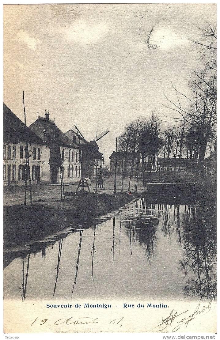 SCHERPENHEUVEL - Souvenir De Montaigu - Rue Du Moulin - Scherpenheuvel-Zichem
