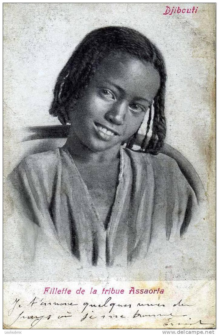 DJIBOUTI FILLETTE DE LA TRIBUE ASSAORTA - Gibuti