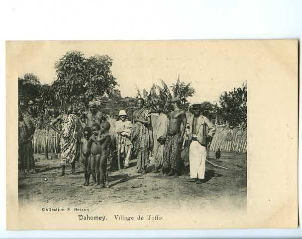 011867  -  DAHOMEY  -  Village De Toffo - Dahomey