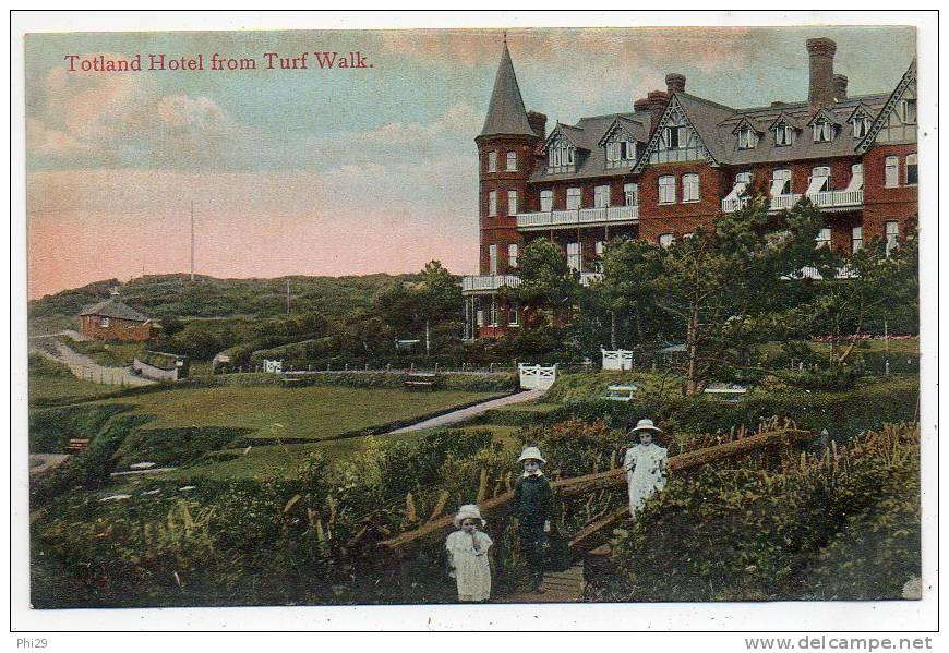 Isle Of Wight Totland From Turf Walk - Angleterre