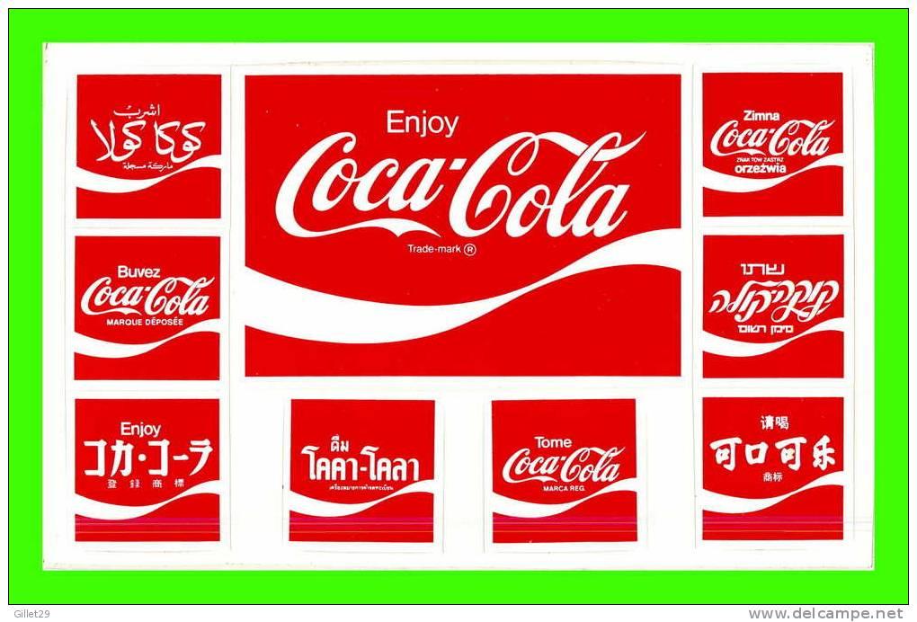 different coca cola logo