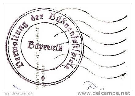 AK 8580 BAYREUTH Richard-Wagner-Festspielhaus 14.8.67 - 21 858 BAYREUTH 2 Md Werbestempel Verwaltung Der Bühnenfestspie - Bayreuth