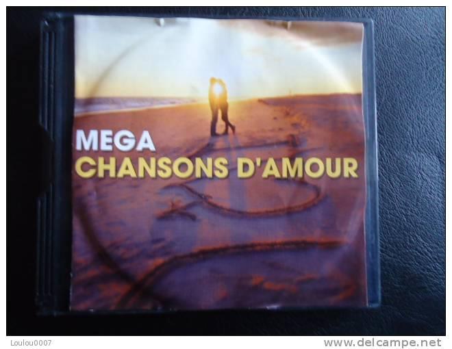 MEGA CHANSONS D'AMOUR  // COMPIL 4  CD - Compilaties