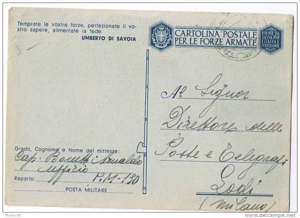LODI  UMBERTO  DI  SAVOIA  1943 - Lodi