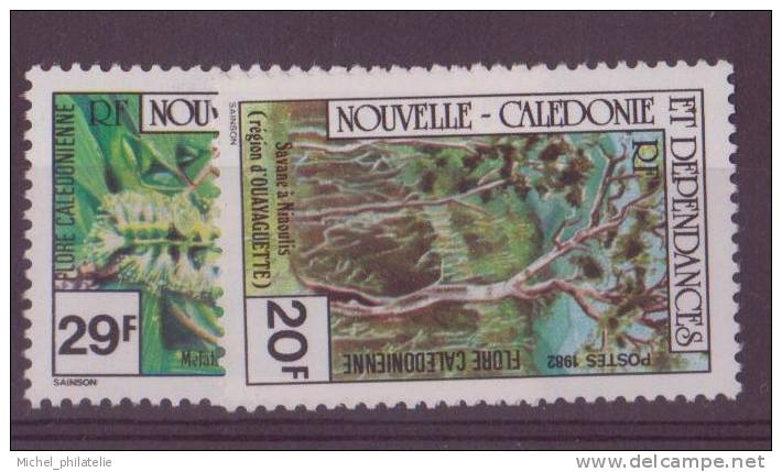 NOUVELLE-CALADONIE N° 457/58** NEUF  SANS CHARNIERE  FLORE - Nueva Caledonia