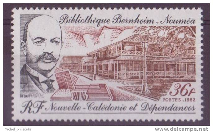 NOUVELLE-CALADONIE N° 465** NEUF  SANS CHARNIERE VUE DU BATIMENT - Nueva Caledonia