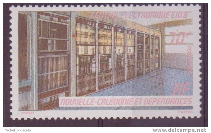 NOUVELLE-CALADONIE N° 502** NEUF  SANS CHARNIERE    CENTRAL ELECTRONIQUE - Nuevos