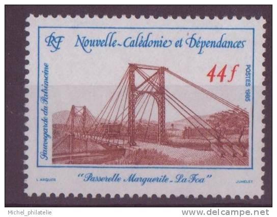 NOUVELLE-CALADONIE N° 503** NEUF  SANS CHARNIERE    PASSERELLE - Nuevos