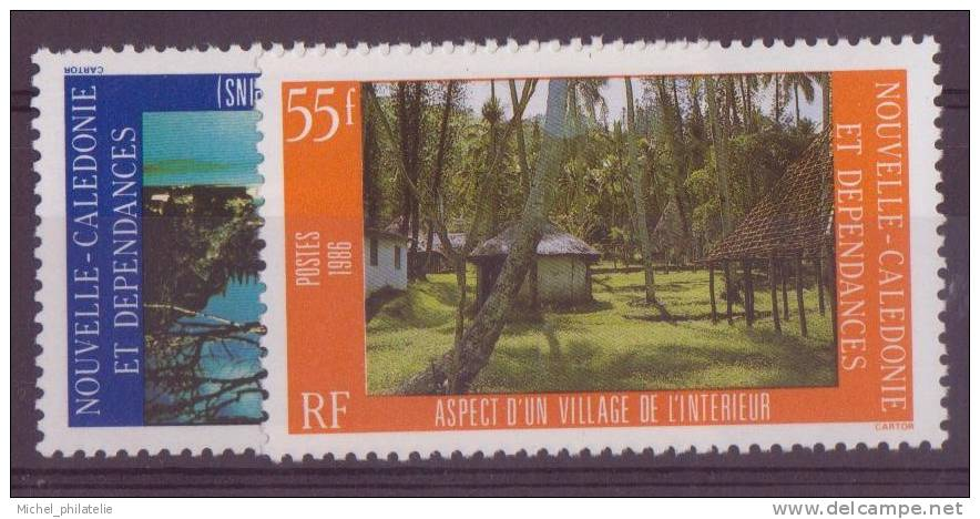 NOUVELLE-CALADONIE N° 514/15** NEUF  SANS CHARNIERE   PAYSAGE - Nueva Caledonia