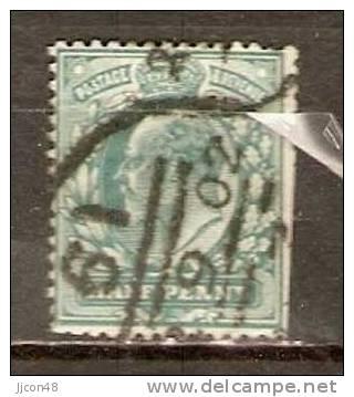 GB 1902-13  KEVII  1/2 (o) SG.215 - 1902-1951 (Re)
