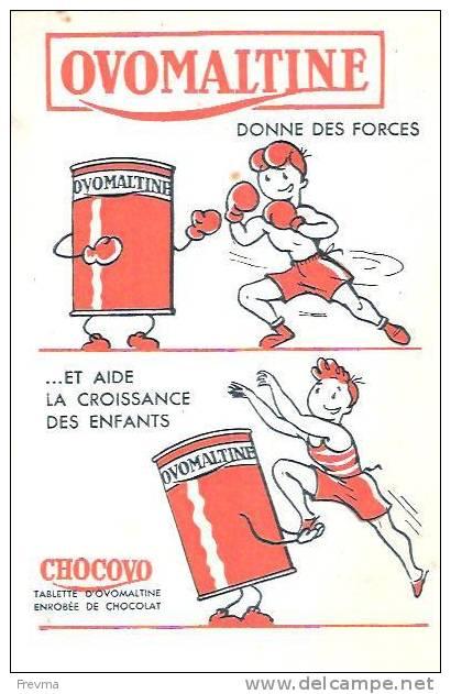 Buvard Ovomaltine - Buvards, Protège-cahiers Illustrés