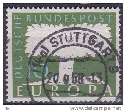 EUROPA - CEPT - Michel - 1957 - Duitsland - Nr 268 - Gest/Obl/Us - 1957