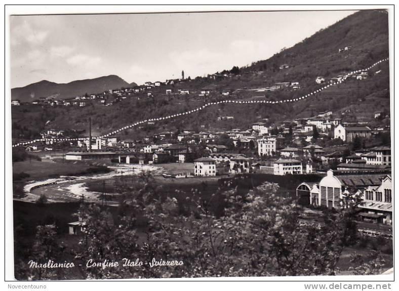 LOMBARDIA - Como - Maslianico -Confine Italo-Svizzero - Como