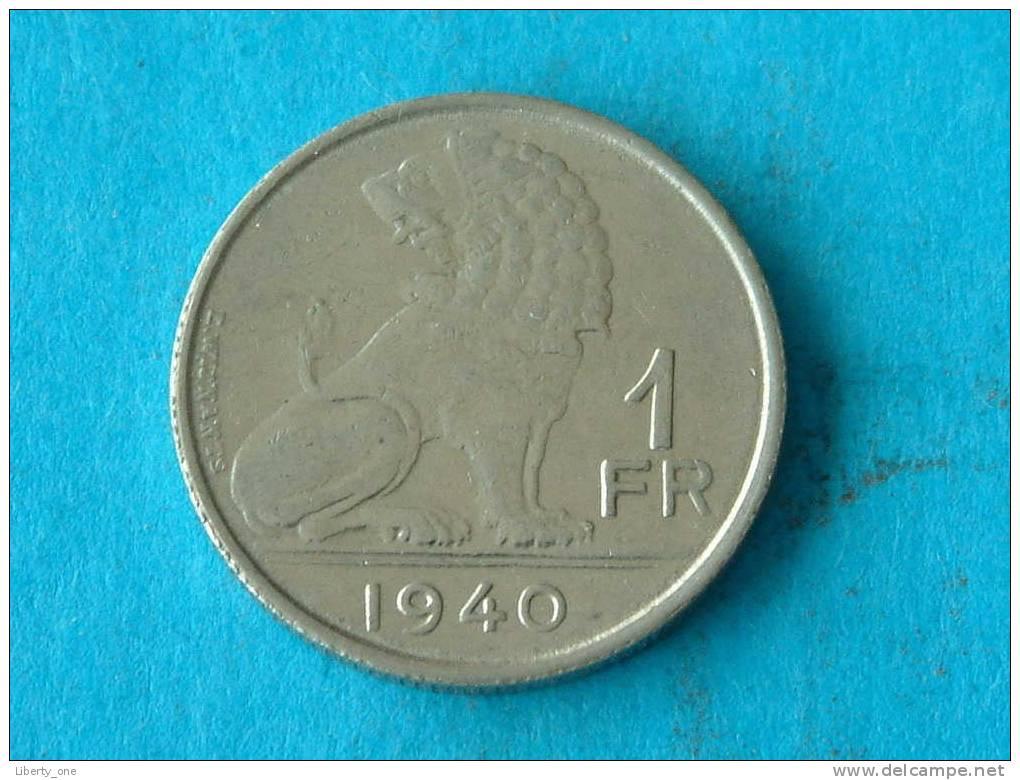 1940 VL/FR / Morin 460 ( Photo For Details ) !! - 1934-1945: Leopold III